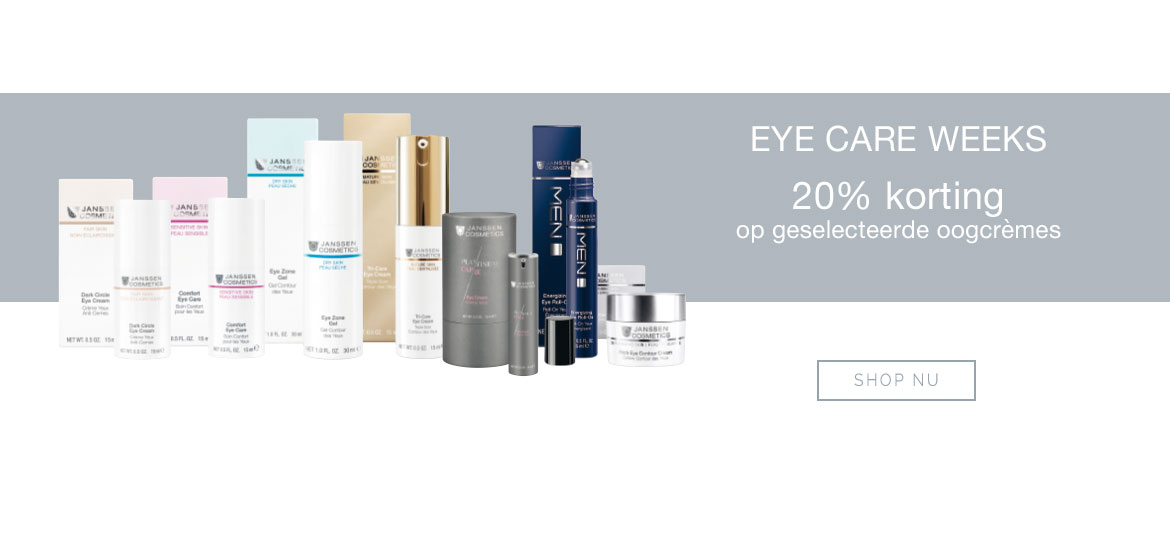 Janssen Cosmetics Eye care weeks