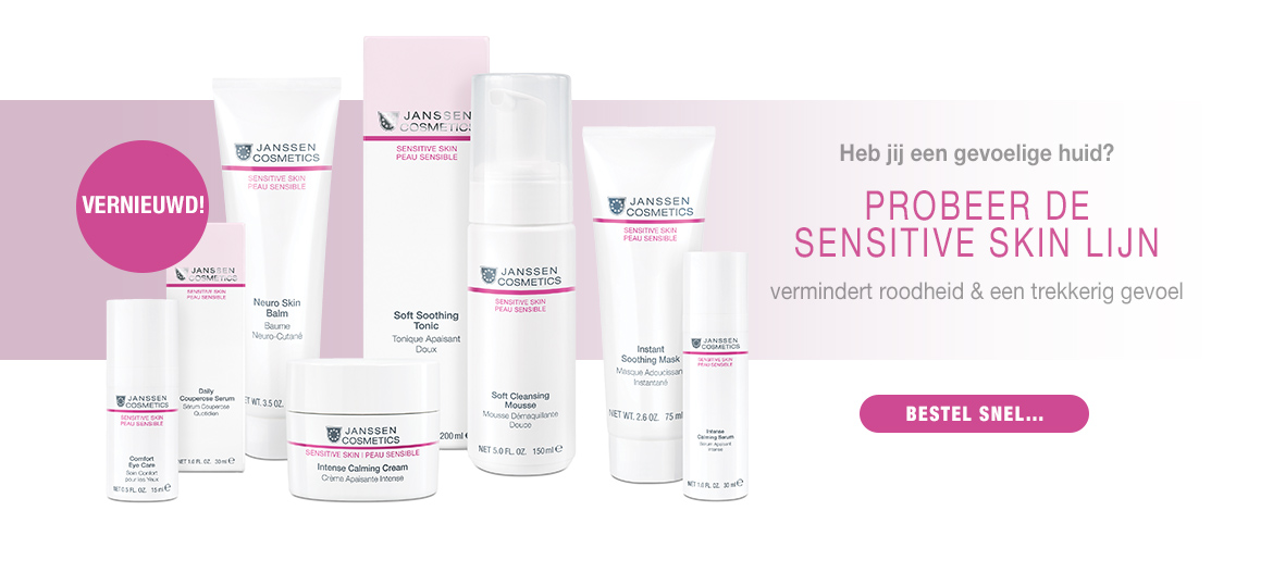 Janssen Cosmetics Sensitive lijn