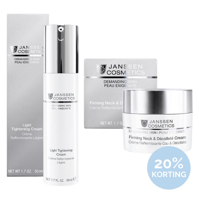 Janssen Cosmetics Light Tightening Cream + Neck & Decollete Cream